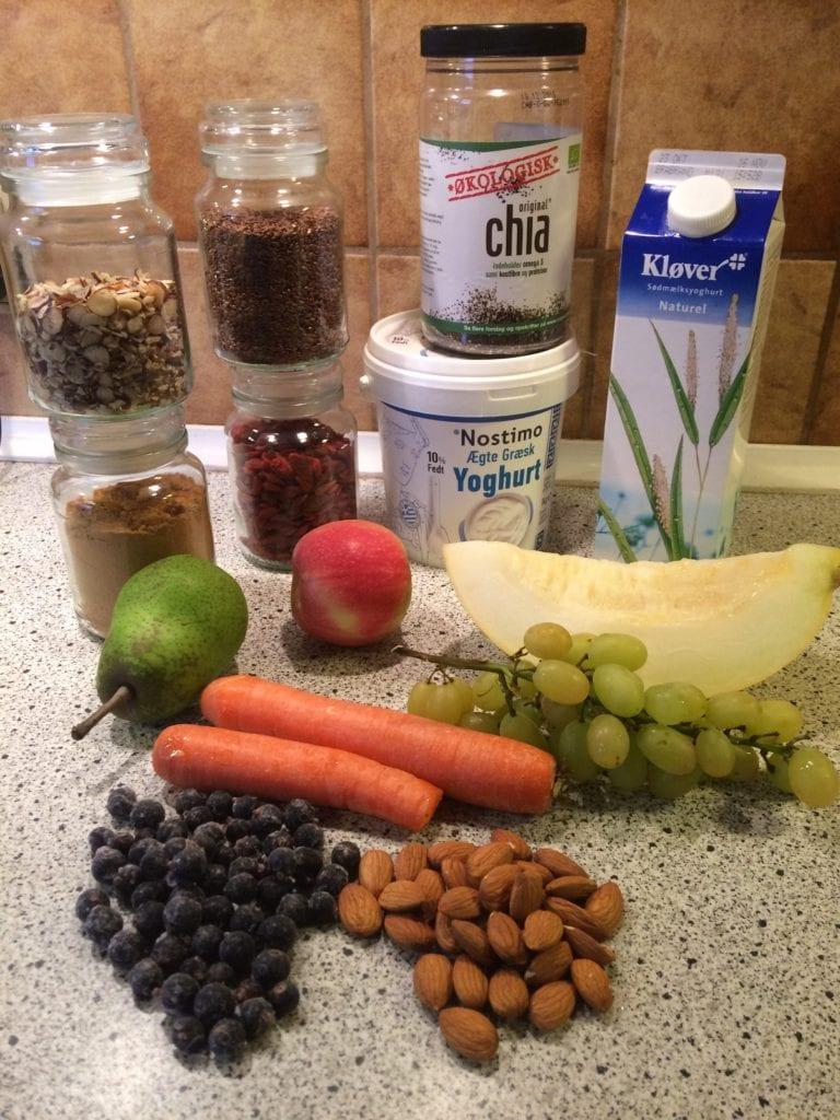 118. tirsdagstur - her får du opskriften på verdens sundeste og skønneste morgenmad - Gå Mig Glad
